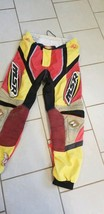 MSR System Motor Cross Racing Pants RED, YELLOW, BLACK, BEIGE -SIZE IS I... - $24.74