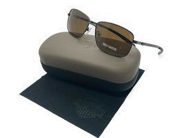 Harley Davidson Men's HDX878 S HDX/878 Gun-1 Gunmetal Square Sunglasses ... - $33.92