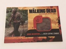 Cryptozoic Walking Dead Season 1 Wardrobe Greg Nicotero Deer Eating Zomb... - $61.38