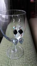 Swarovski crystal Skulls earrings Wedding jewelry Gift for her Crystal earrings  image 3
