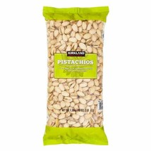Kirkland Signature In-Shell Pistachios Roasted & Salted 3lbs U.S. extra #1 08/22 - $26.40