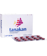 40mg x 90 Tablets Tanakan Ginkgo Biloba Extract Product of France EXPRES... - $72.90