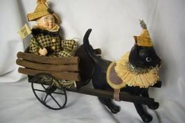 Bethany Lowe Halloween Black Cat Express image 1