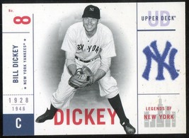 2001 Upper Deck Legends of New York #95 Bill Dickey - $3.00
