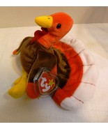 "TY Beanie Babies ""Gobbles"" - The 1997 Thanksgiving Turkey in Display Case - $19.98"