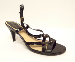 COLE HAAN Size 9 Black Patent Slingback Sandals Shoes N. Air - $68.00