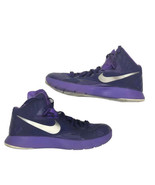 Nike Lunarlon Hyperquickness Purple Y3 Basketball Shoes Size 7 - $59.39