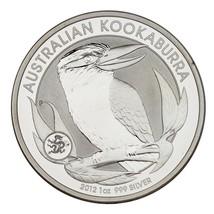 2012 Australia $1 Silver 1oz Kookaburra w/ Dragon Privy (BU Condition) & Capsule - $49.49