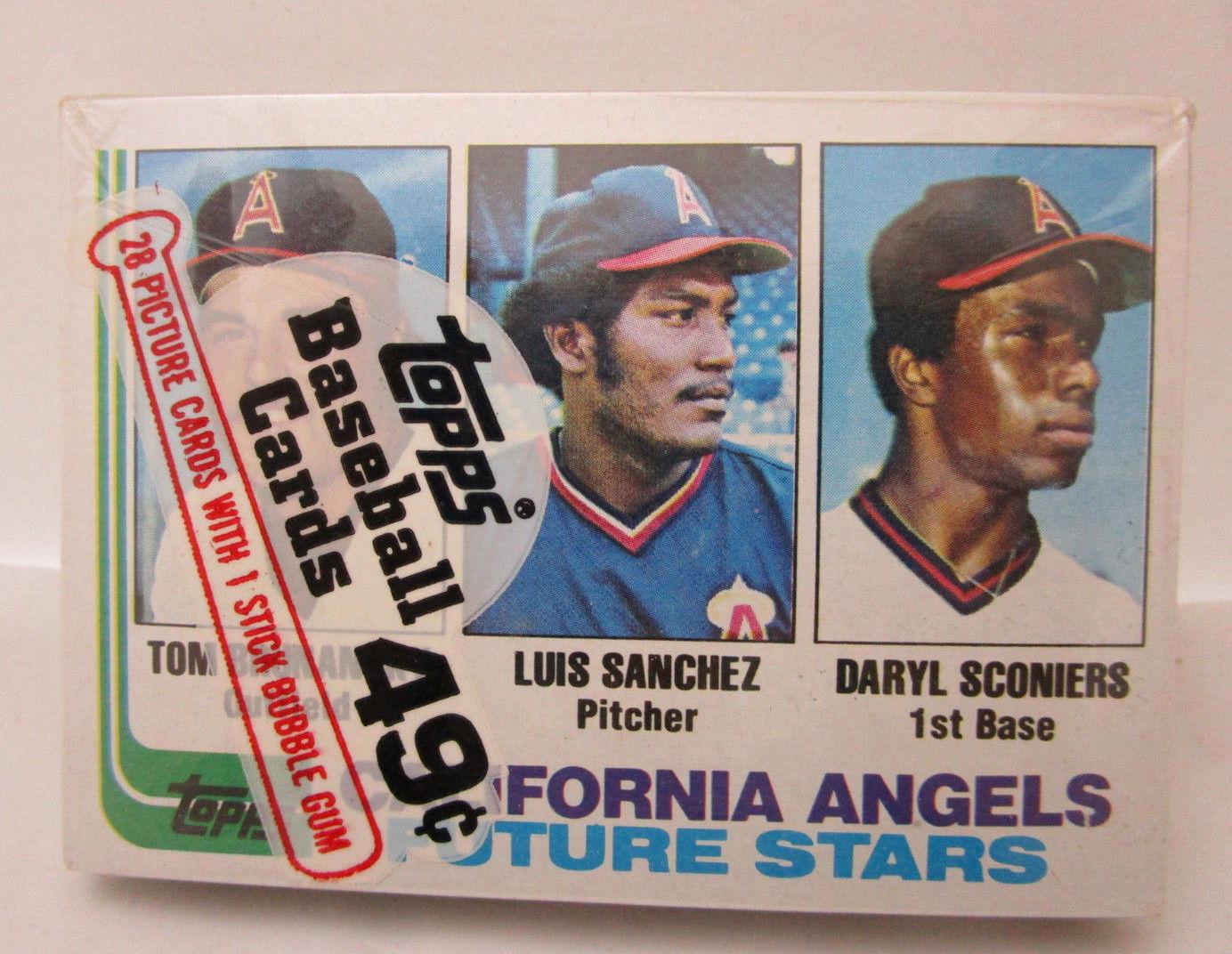 1982 Topps Baseball Cello Pack W Tom And 50 Similar Items