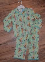 New Girls Disney Faries 2 pc Shirt & Pants Green Tinker Bell Pajamas Set... - $15.88