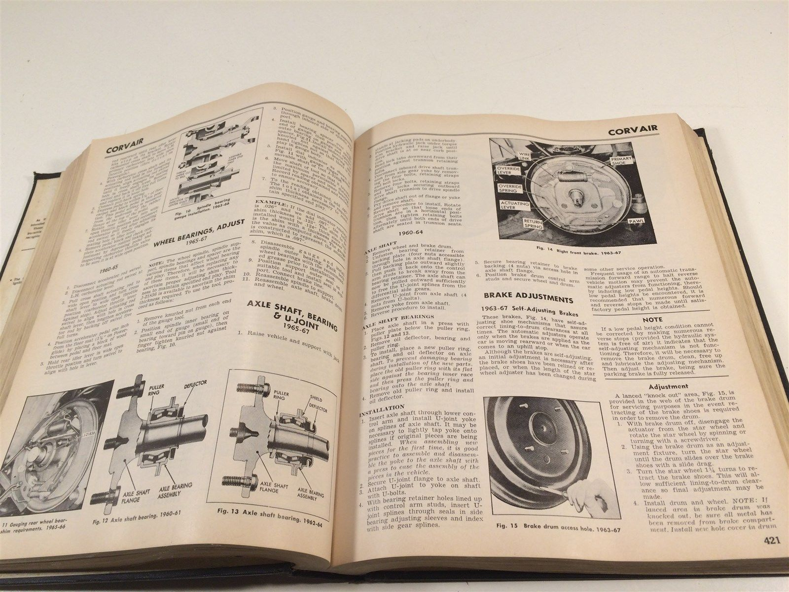 1967 Motor's Quick Service Manual 3rd Edition Rambler Comet Cougar Corvair Ford