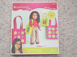 NEW American Girl Crafts Felt Flower Bags Party... - $6.55