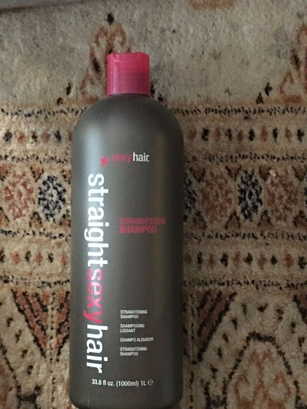Primary image for Sexy Hair Straight Sexy Hair Straightening Shampoo 33.8 oz