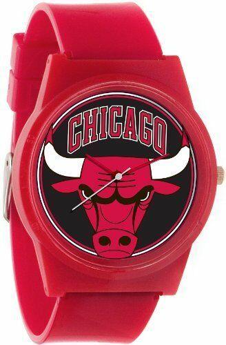 Flud Pantone NBA Rot Chicago Bulls Uhr Basketball Chi Offiziell Genehmigung 23