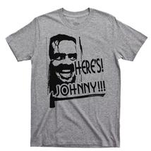 Here's Johnny T Shirt, The Shining Overlook Hotel Redrum Men's Cotton Tee Shirt - £10.17 GBP+