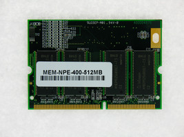 MEM-NPE400-512MB Approved 512MB memory Cisco 7200 NPE-400