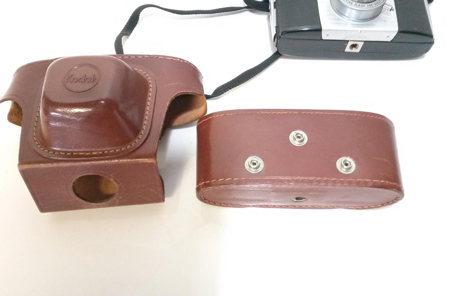 Vintage Kodak Pony 135 MM Camera With Leather Case
