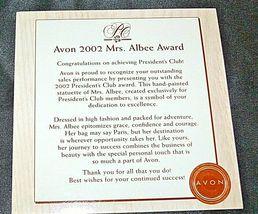Miss Albee Award Figurine with Box AA20-2156 Vintage image 8