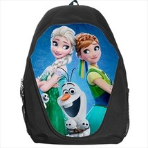 backpack frozen elsa anna olaf snowgies snowman school bag - $41.79