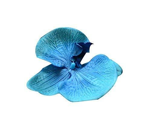 Set of 2 Flower Hair Pin Fashion Hair Clip Creative Hairpin,Blue