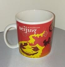 BEJING / Starbucks Mug / Coffee / Tea / China / Red / Dragon - $24.74