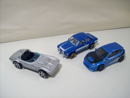 Nwob Lot Of 3 Hot Wheels Fast & Furious DIE-CAST Cars Corvette Escort Subaru - $11.71