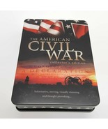 The American Civil War Collector's Edition 5-DVD Tin Box Set w Booklet - $13.58