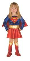 Rubini Dc Comics Classic Super Girl Lusso Bambini Costume Halloween 885370 - $25.16