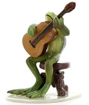 Hagen-Renaker Specialties Froggie Mountain Breakdown Bluegrass Frog Guitar