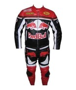 RED BULL BLACK/RED/WHITE REAL COWHIDE MOTOGP RACING LEATHER SUIT ALL SIZES  - $235.00