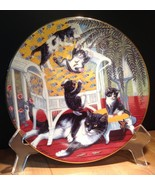 Country Kitties 'Just For The Fern Of It' Gre' Gerardi 1988 Hamilton Plate - $14.99