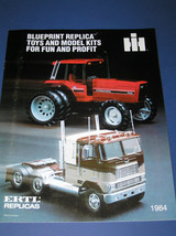 ERTL 1984 INTERNATIONAL HARVESTER REPLICAS CATALOG - $7.50