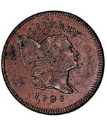 1795 Flowing Hair, Half Cent, slight wear, priced low, Fast shipping and... - €3,56 EUR