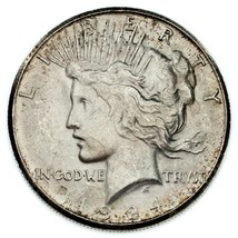 1924-S Silver Peace Dollar in UNC Condition! Nice Coin - $222.61