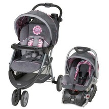 Baby Stroller Car Seat Combo Travel System for Girls Flex-Loc Rear Facing Padded - $192.84