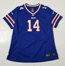 Nike On Field Buffalo Bills Womens XL Football Jersey Sammy Watkins Blue NFL #14 - $24.99