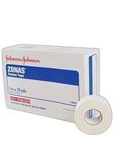 "Johnson & Johnson JJ5104 Zonas Porous Adhesive Tape, 1"" x 10"", White  (Box of 12 - $26.99"