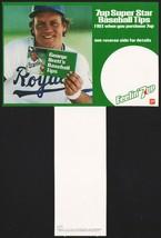 Vintage carton stuffer 7 UP dated 1981 George Brett Kansas City Royals n... - $8.99