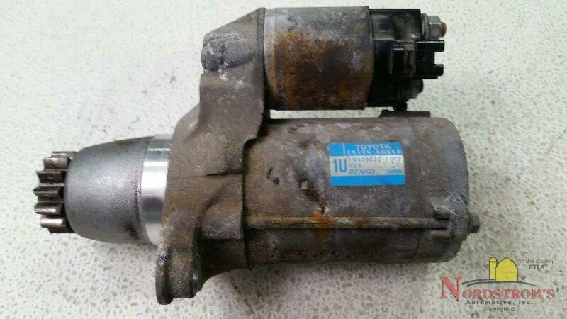 Primary image for 2012 Toyota Camry STARTER MOTOR
