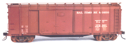 Funaro & Camerlengo HO B&O M15L/M wagontop Boxcar ONE PIECE BODY Kit 7020 image 2
