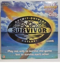 Survivor Board Game Outwit Outplay Outlast  Brand Sealed box - $17.75