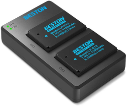 Beston 2 Pack Lp-E12 Batteries And Usb Battery Charger For Canon Rebel S... - $32.60