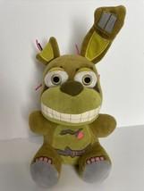 "Funko Five Nights At Freddy's Springtrap Bunny Rabbit Green 7"" Plush 2016 - $29.65"