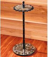 Standing Rod Rack Round Fishing Pole Organizer 16 Rod Holder Fish Gear S... - $55.49
