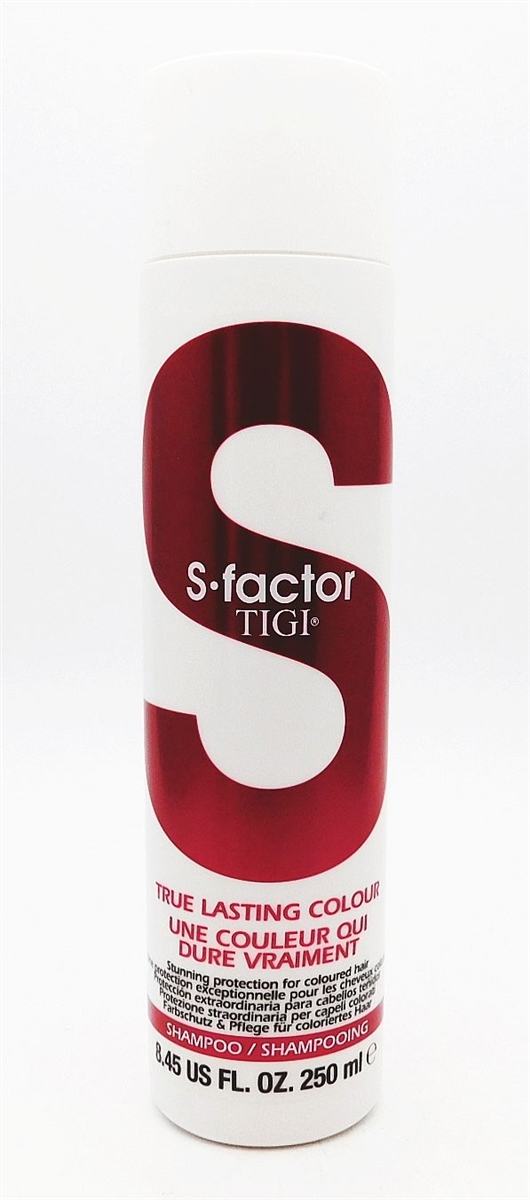 S Factor TIGI True Lasting Colour Shampoo 8.45 Fl Oz.