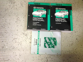 1994 toyota mr2 mr 2 service repair workshop manual set with cable diagram - $198.85