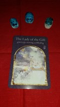 Wisdom of the Hidden Realms Oracle Cards. Reading with ONE card ONE QUESTION - $5.99
