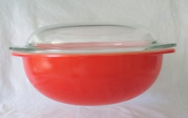 Pyrex, Friendship Red, 024 with Lid, 2 Quart - $36.00