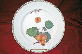"""Queens China Hookers Fruit Peaches Dinner Plate 11"""" - $8.31"""