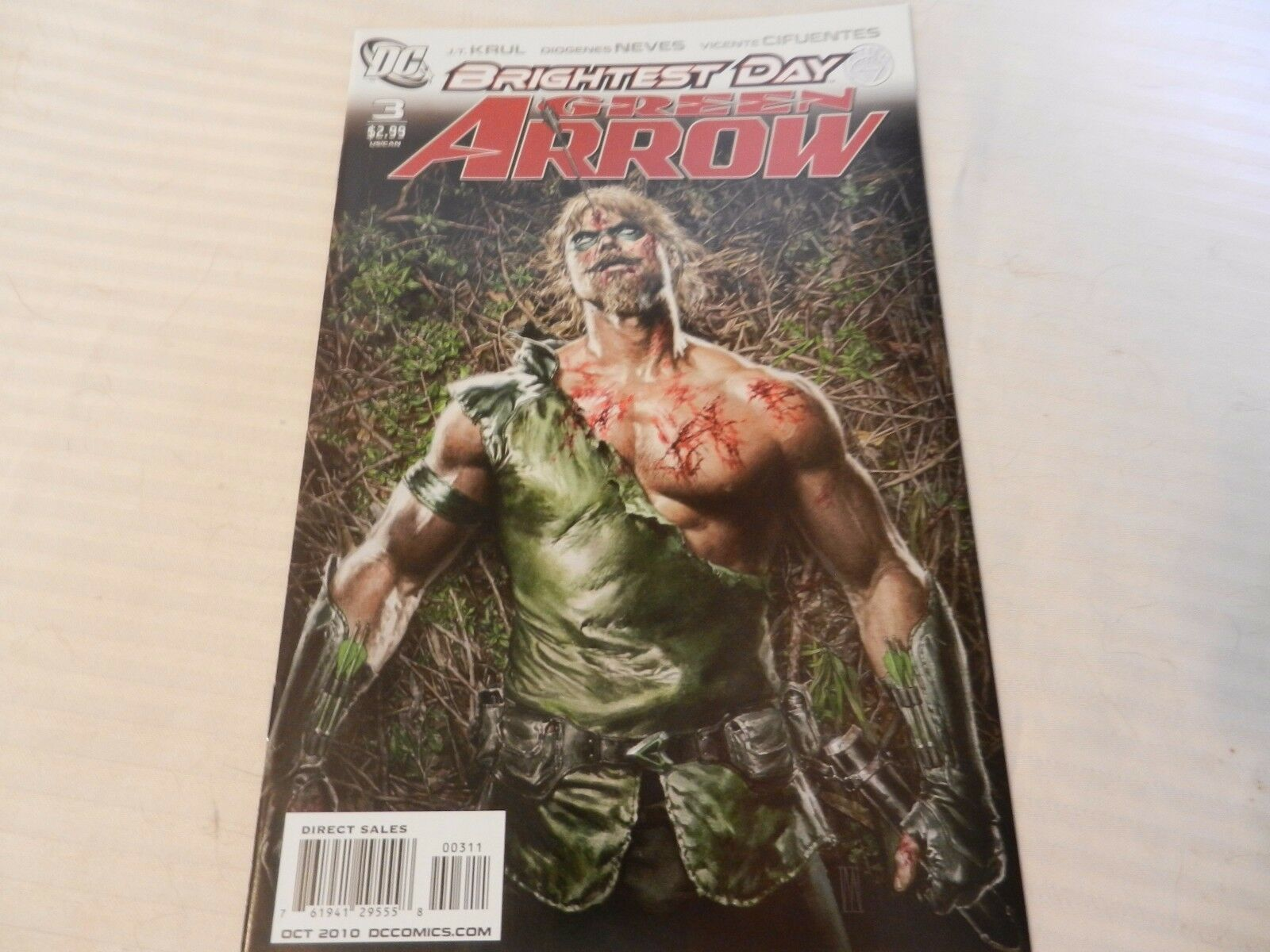 Brightest Day Green Arrow DC Comics #3 October 2010
